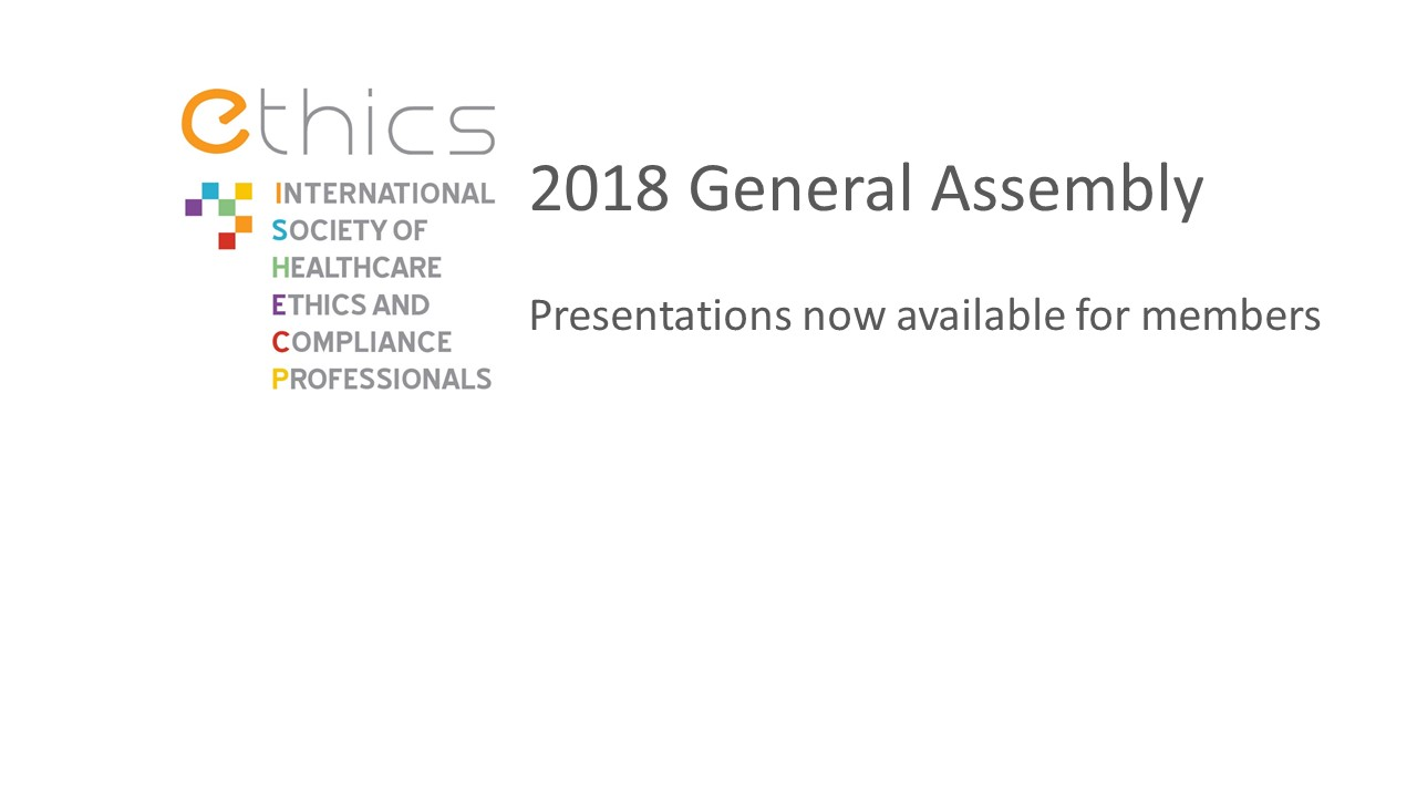 2018 General Assembly Slides Available