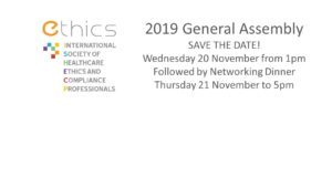 2019 ETHICS General Assembly
