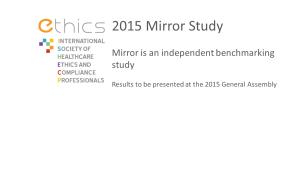 ETHICS Mirror Study
