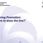 IFPMA Defining Promotion