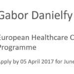 Gabor Danielfy Scholarship June 2017
