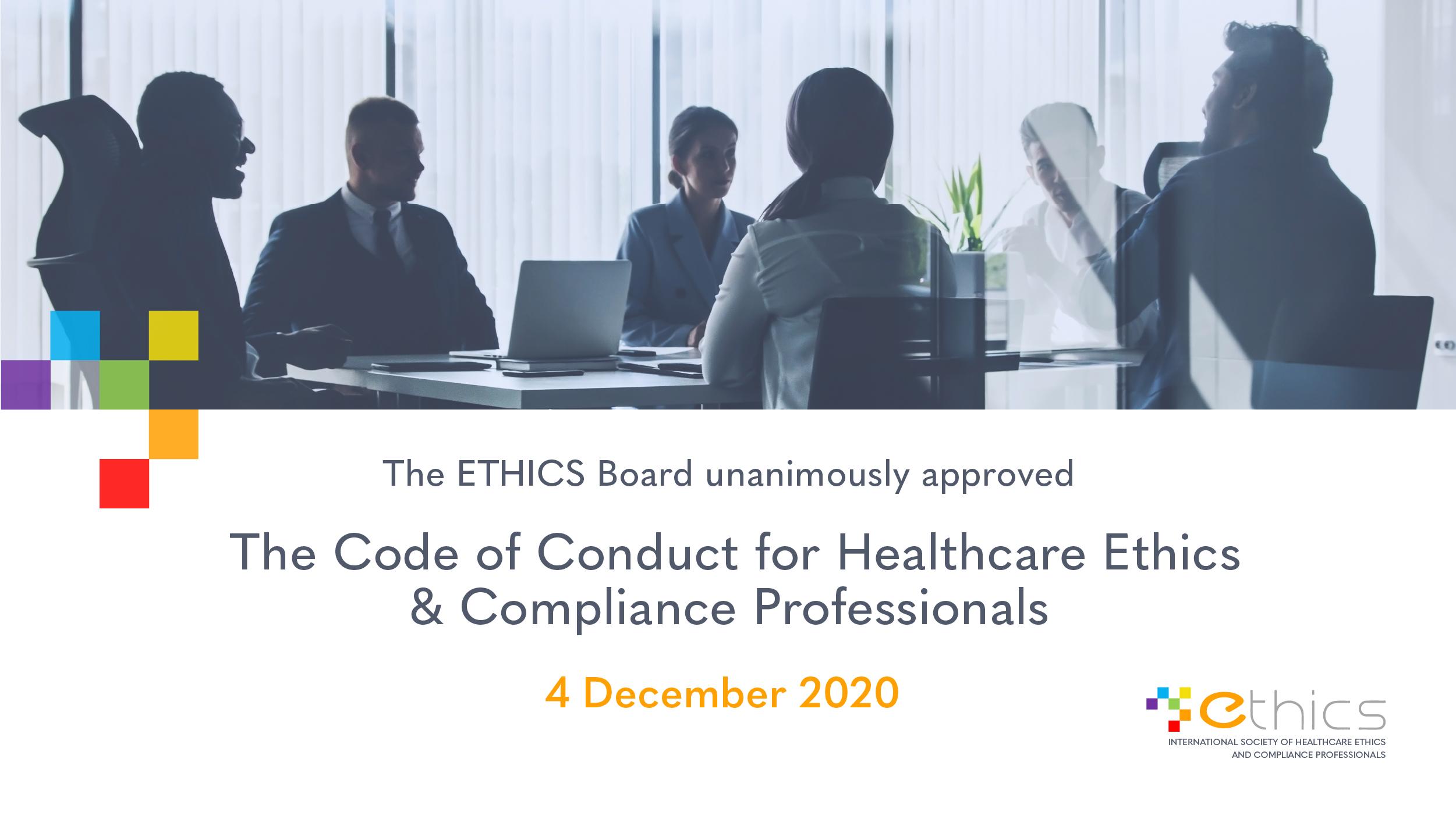 ETHICS Code 2020
